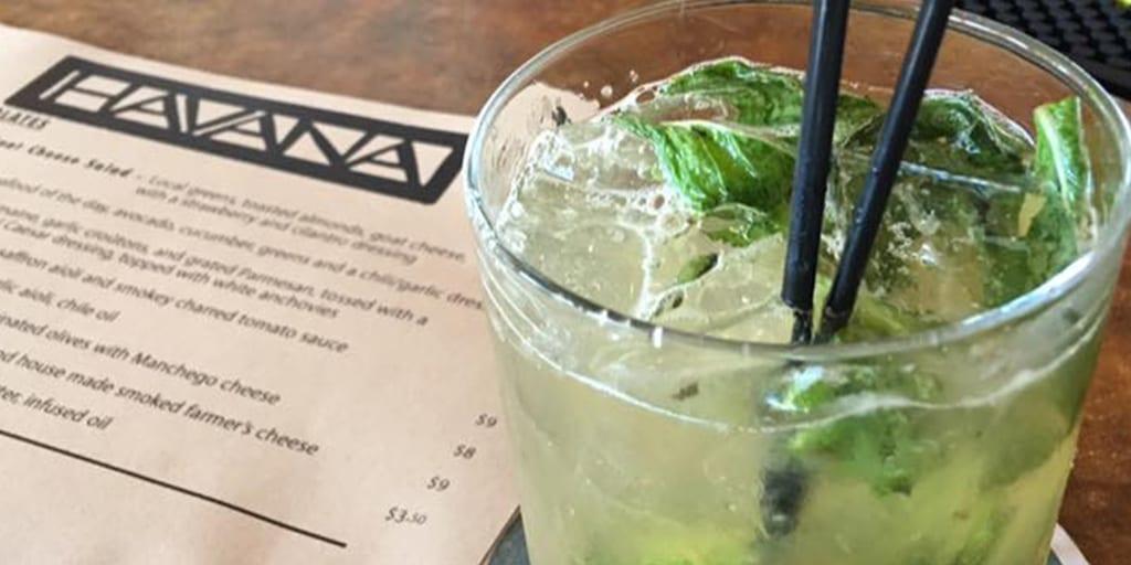 Delicious Cocktails at Havana, Bar Harbor, Maine