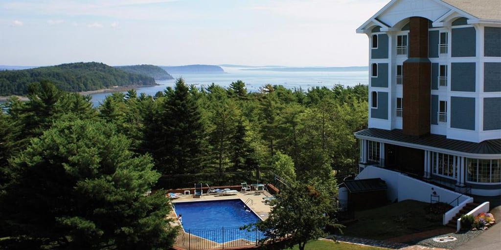 The Bluenose Inn in Bar Harbor, Maine