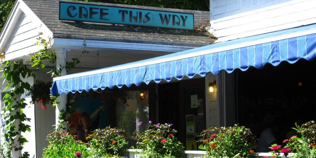 Cafe This Way in Bar Harbor, Maine