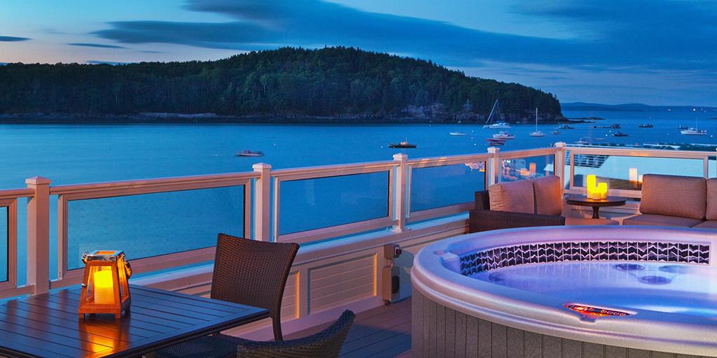 The Harborside Hotel & Marina in Bar Harbor, Maine