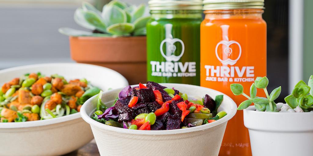 Thrive Juice Bar & Kitchen in Bar Harbor, Maine