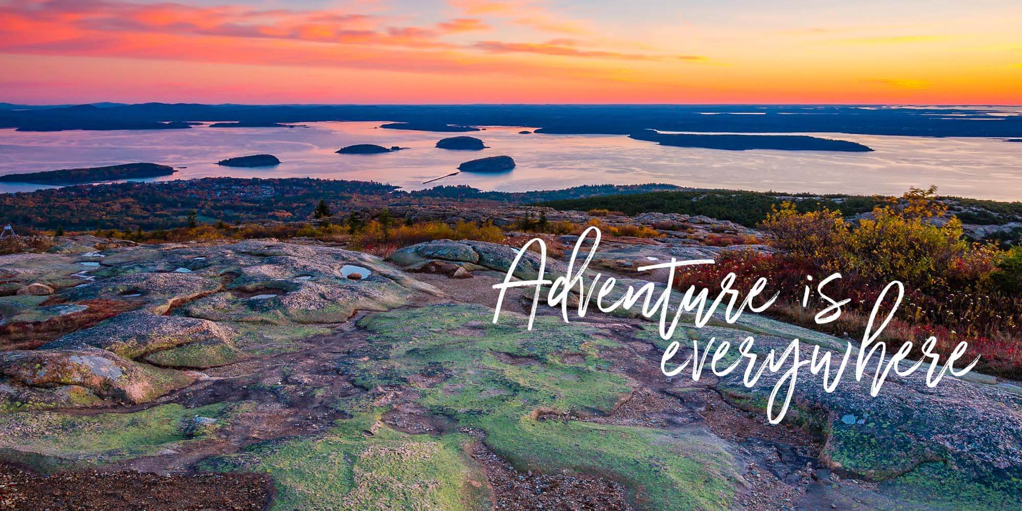 Visit Acadia National Park - Adventure is Everywhere