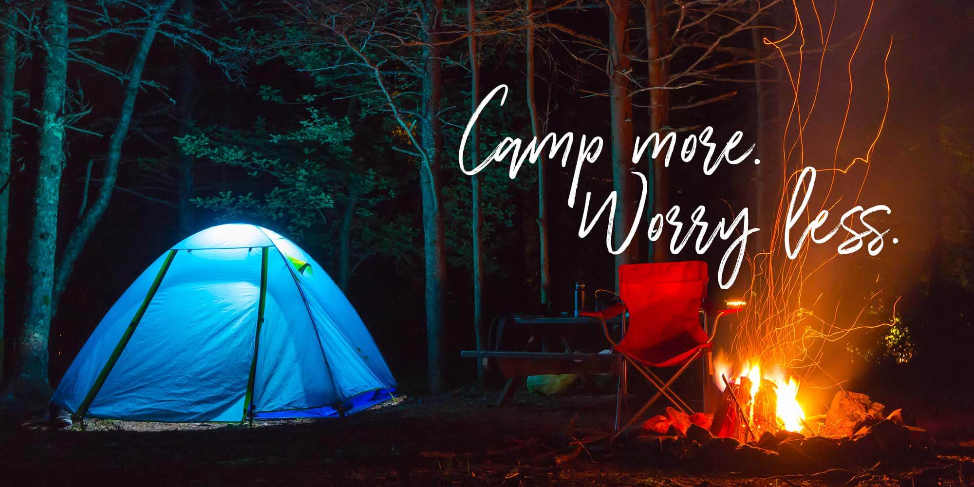 Camp More, Worry Less - Acadia National Park