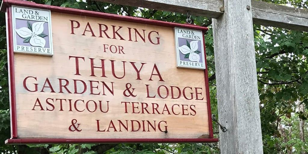 Thuya Garden in Northeast Harbor, Maine