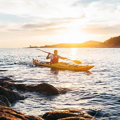Sea Kayaking in Acadia National Park