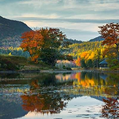 Leaf Peeping in Acadia National Park