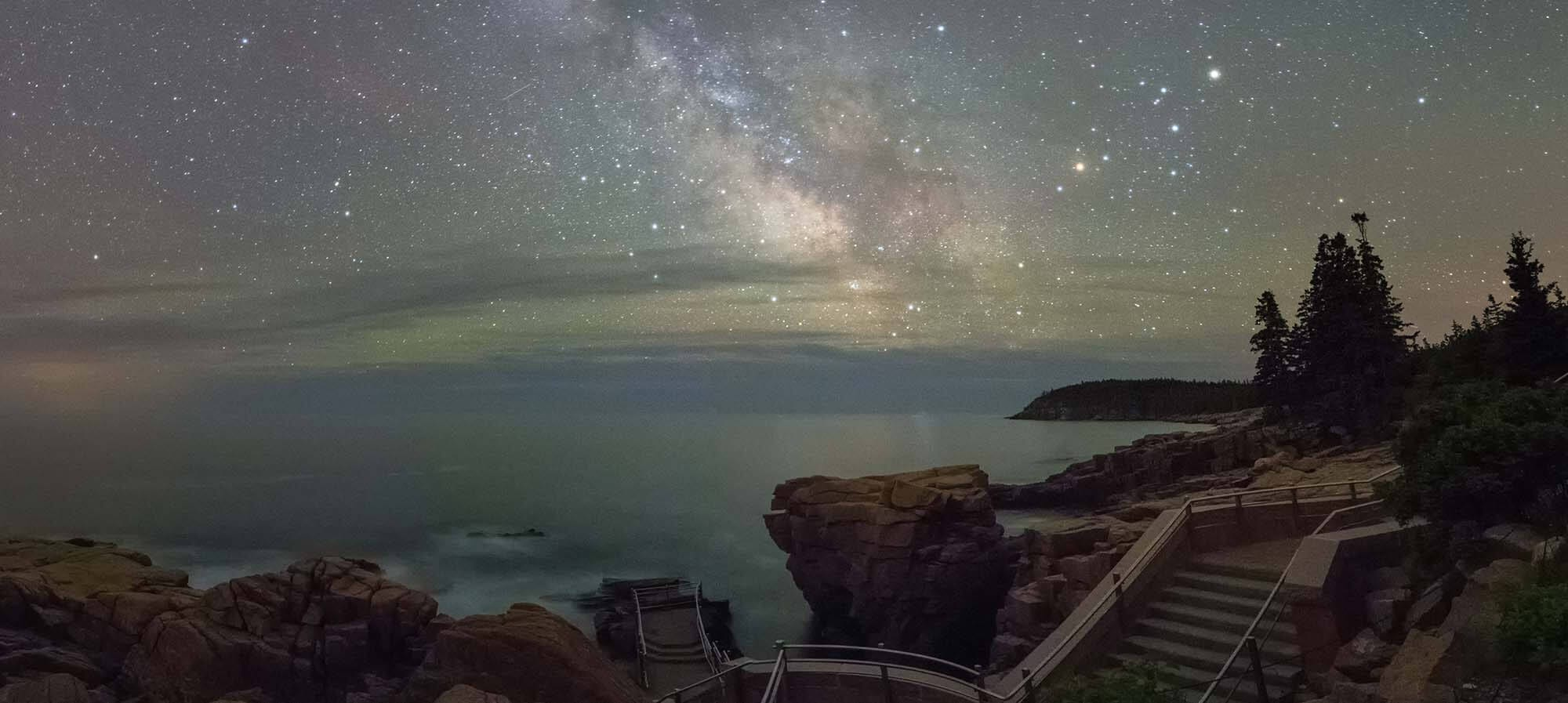Night Sky in Acadia National Park