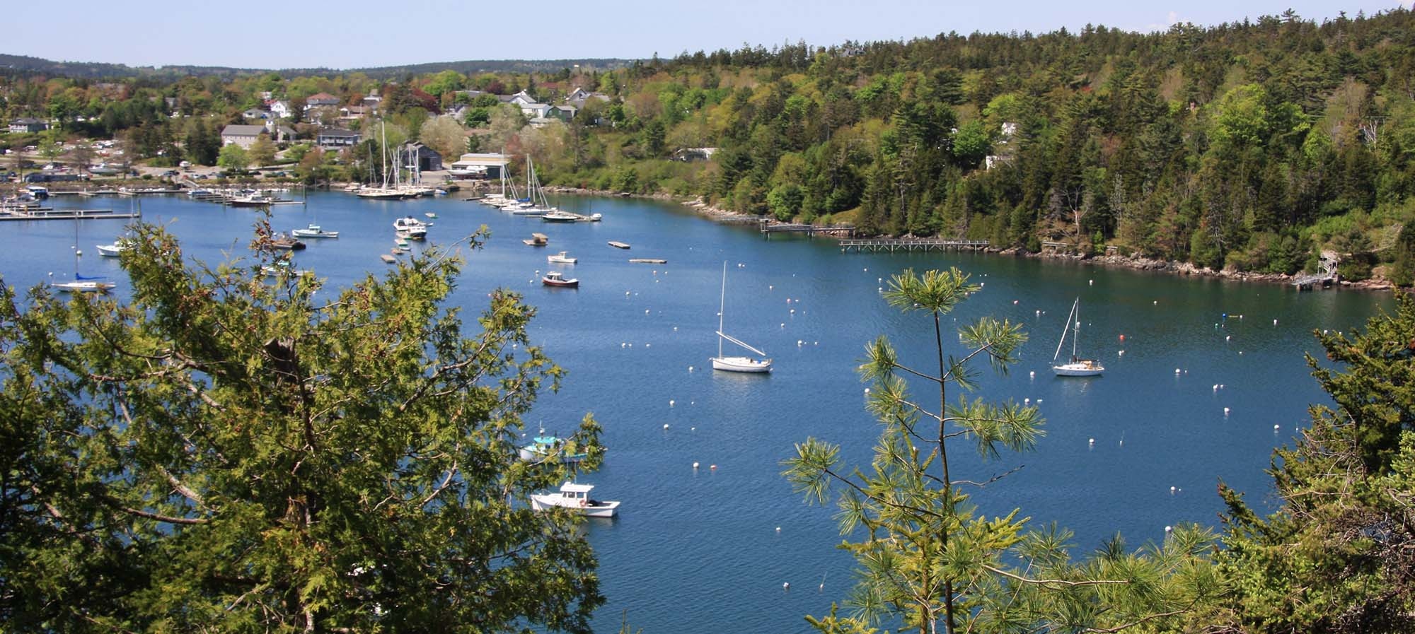 Northeast Harbor on Mount Desert Island