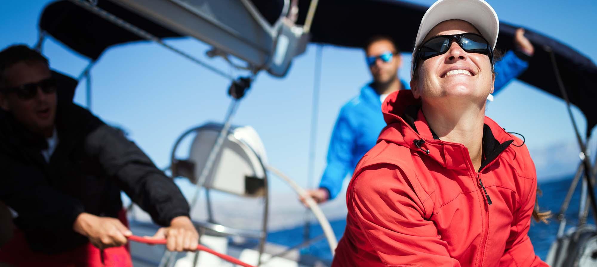 Sailing on Mount Desert Island
