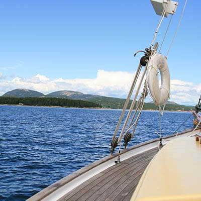 Sailing in Acadia National Park