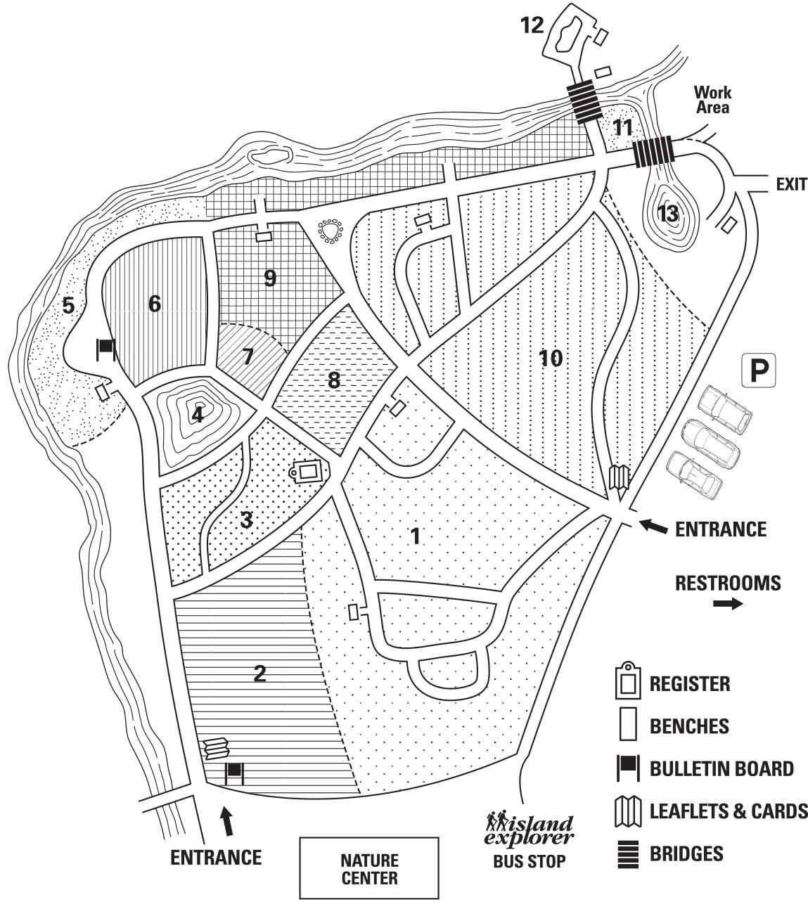 Wild Gardens of Acadia Map