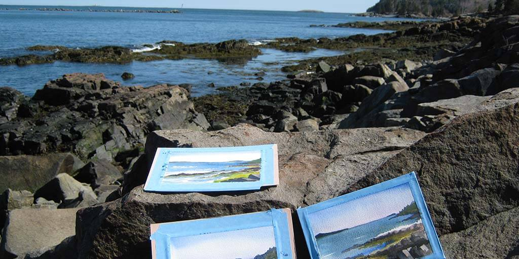 Paint Your Own Maine Memory