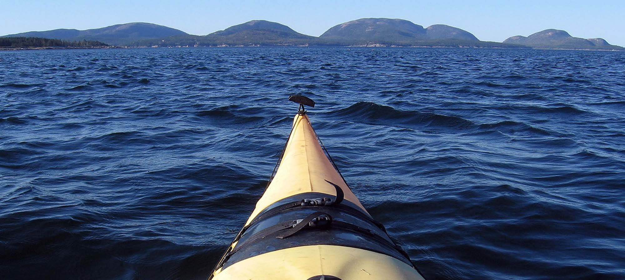 Sea Kayaking Around Mount Desert Island, Maine