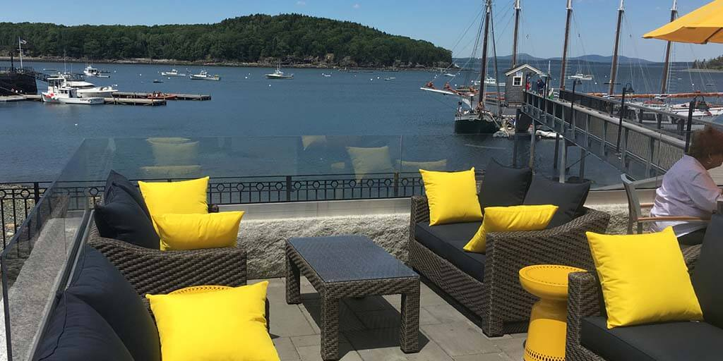 Terrace Grille in Bar Harbor, Maine