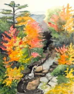 Painting Autumn with Emily Bracale