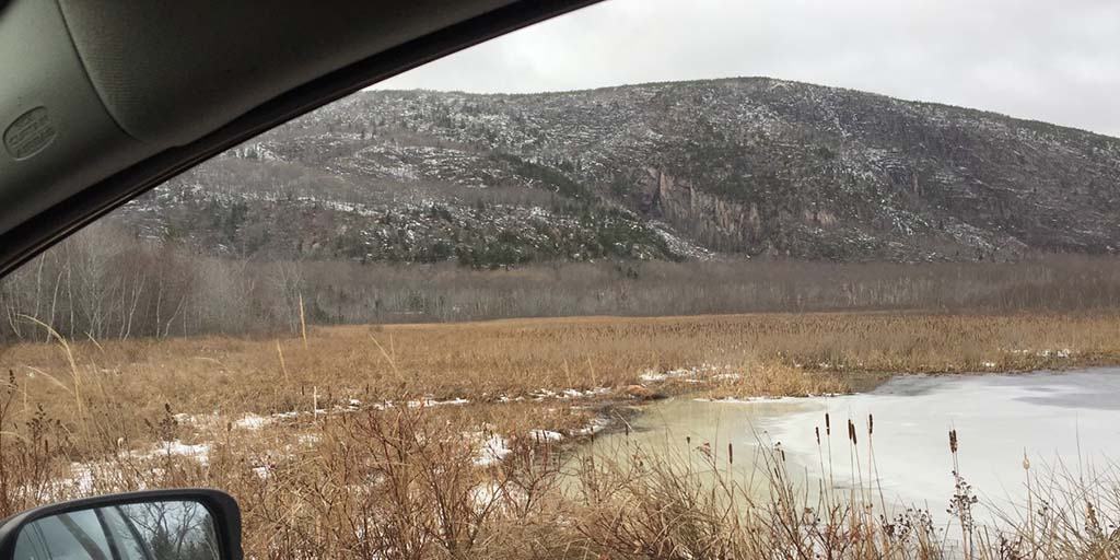 Champlain Mountain in Acadia