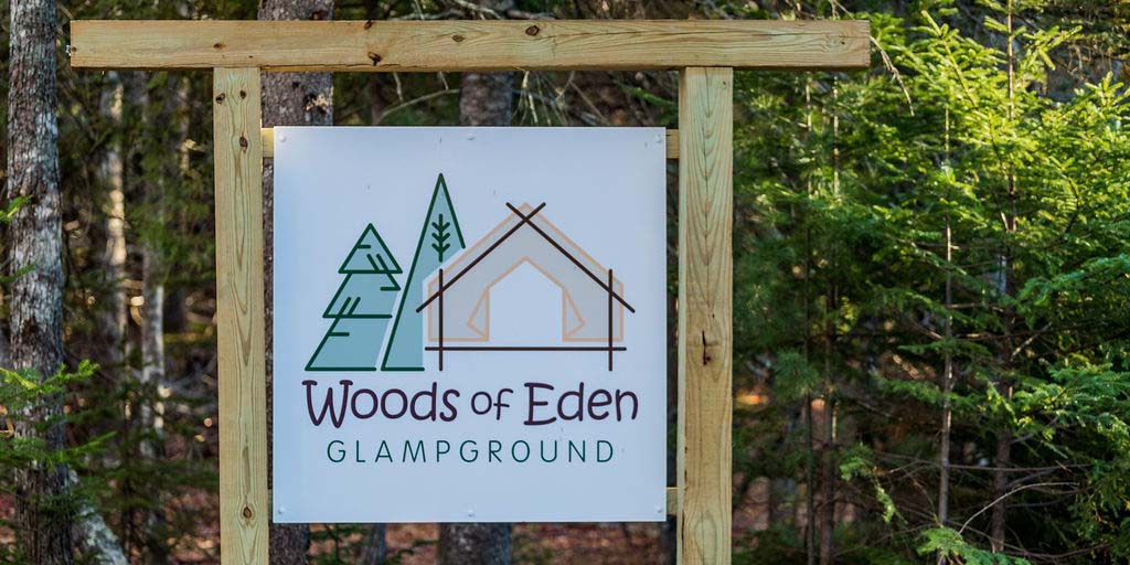 Woods of Eden Glampground in Bar Harbor, ME